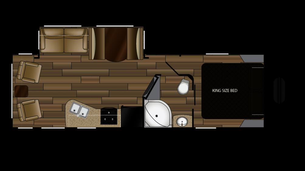 2018 Cruiser MPG 2650RL Floor Plan