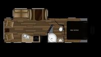 2019 Cruiser MPG 2650RL Floor Plan