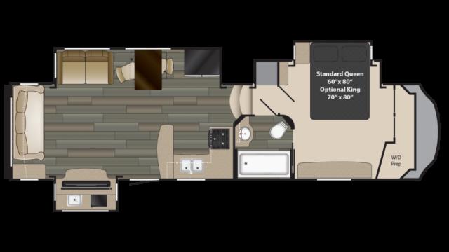 2018 Gateway 3213CK Floor Plan