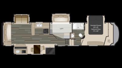 2018 Gateway 3713CK Floor Plan