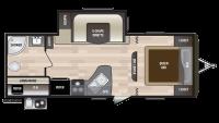 2019 Hideout 232LHS Floor Plan