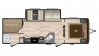 2019 Hideout 272LHS Floor Plan