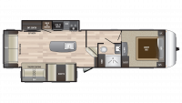 2019 Hideout 303RLI Floor Plan