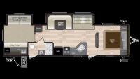 2019 Hideout 31RBDS Floor Plan