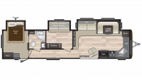 2019 Hideout 38FKTS Floor Plan