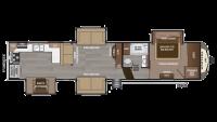 2018 Montana 3701LK Floor Plan