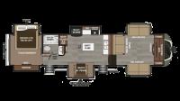 2018 Montana 3730FL Floor Plan