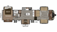 2018 Montana 3731FL Floor Plan