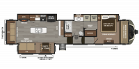 2018 Montana 3810MS Floor Plan