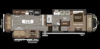 2018 Montana 3810MS Floor Plan