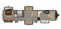 2018 Montana 3820FK Floor Plan