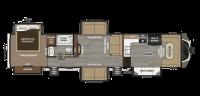 2018 Montana 3820FK Floor Plan
