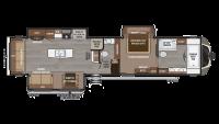 2018 Montana 3921FB Floor Plan