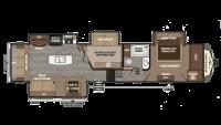 2018 Montana 3950BR Floor Plan