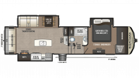 2018 Montana High Country 305RL Floor Plan