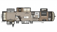 2018 Montana High Country 362RD Floor Plan