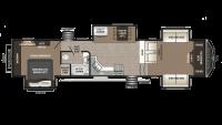 2018 Montana High Country 374FL Floor Plan