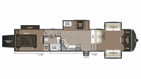 2018 Montana High Country 380TH Floor Plan