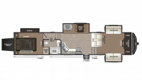 2018 Montana High Country 381TH Floor Plan