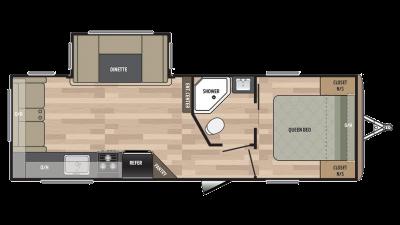 2018 Springdale 252RL Floor Plan
