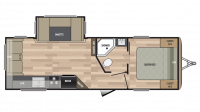 2019 Springdale 252RL Floor Plan