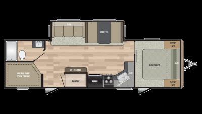 2018 Springdale 280BH Floor Plan