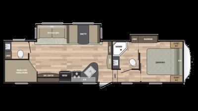 2018 Springdale 300FWBH Floor Plan