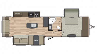 2018 Springdale 333RE Floor Plan