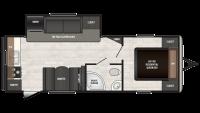 2019 Sprinter Campfire Edition 25RK Floor Plan