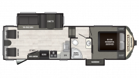 2019 Sprinter Campfire Edition 26FWRL Floor Plan