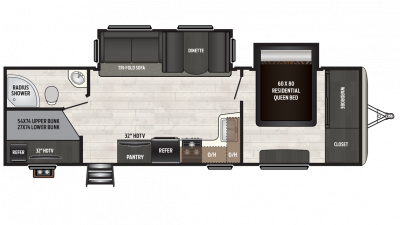 2018 Sprinter Campfire Edition 29BH Floor Plan Img