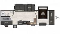 2018 Sprinter Campfire Edition 29BH Floor Plan