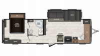 2018 Sprinter Campfire Edition 29FK Floor Plan