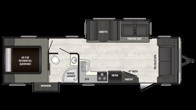 2018 Sprinter Campfire Edition 30FL Floor Plan