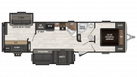 2018 Sprinter Campfire Edition 33BH Floor Plan