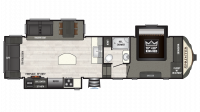 2019 Sprinter Limited 3150FWRLS Floor Plan