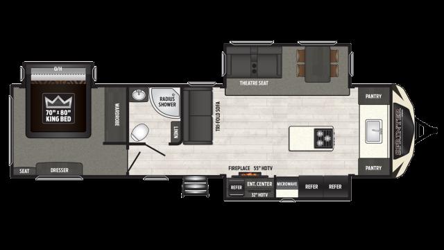 2019 Sprinter Limited 333FKS