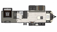 2018 Sprinter Limited 333FKS Floor Plan