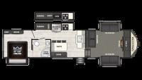 2019 Sprinter Limited 3341FWFLS Floor Plan