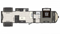 2019 Sprinter Limited 3530FWDEN Floor Plan