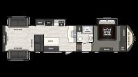 2018 Sprinter Limited 3530FWDEN Floor Plan
