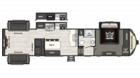 2019 Sprinter Limited 3531FWDEN Floor Plan