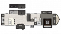2018 Sprinter Limited 3551FWMLS Floor Plan