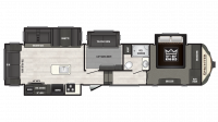 2019 Sprinter Limited 3570FWLFT Floor Plan