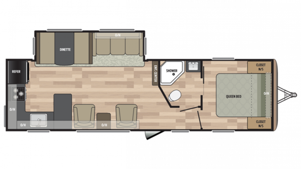 2018 Summerland 2930RK Floor Plan Img