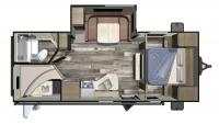 2019 Autumn Ridge Outfitter 24BHS Floor Plan