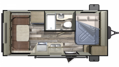 2019 Autumn Ridge Outfitter 171RD Floor Plan Img