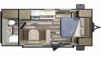 2019 Autumn Ridge Outfitter 182RB Floor Plan