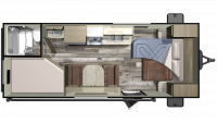 2019 Autumn Ridge Outfitter 20MB Floor Plan