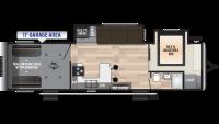 2019 Impact 317 Floor Plan